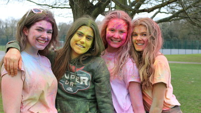 On the last day of term, our whole school took part in our first 'Colour Run'.