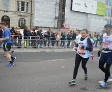 Alison rivers london marathon april 16 1