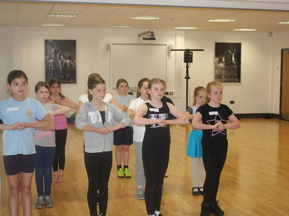 2016 Year 5 Dance Workshop - May