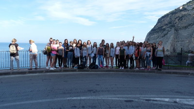 Over the course of the last week, we have welcomed back students and staff from their travels to Italy, where they visited Sorrento, Vesuvius and Pompei to name but a few places.