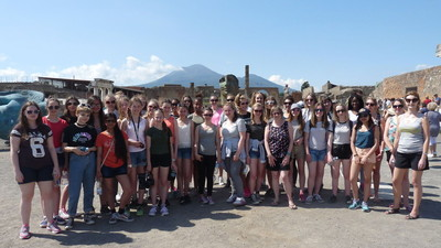 Year 9 and 10 Geography Visit to Italy