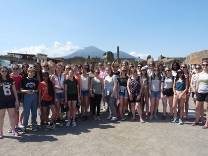 2016 Geography trip to Sorrento