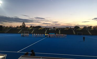 Kingshott U11's on the Olympic Hockey Pitch