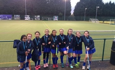 Kingshott Girls - U11 Hockey - County Champions!