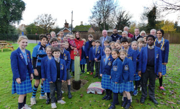 Celebrating National Tree Week by planting a Tree!