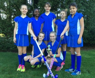 U13 Girls District Hockey Team Winners