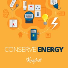 Kingshott Eco Pledge -Save energy