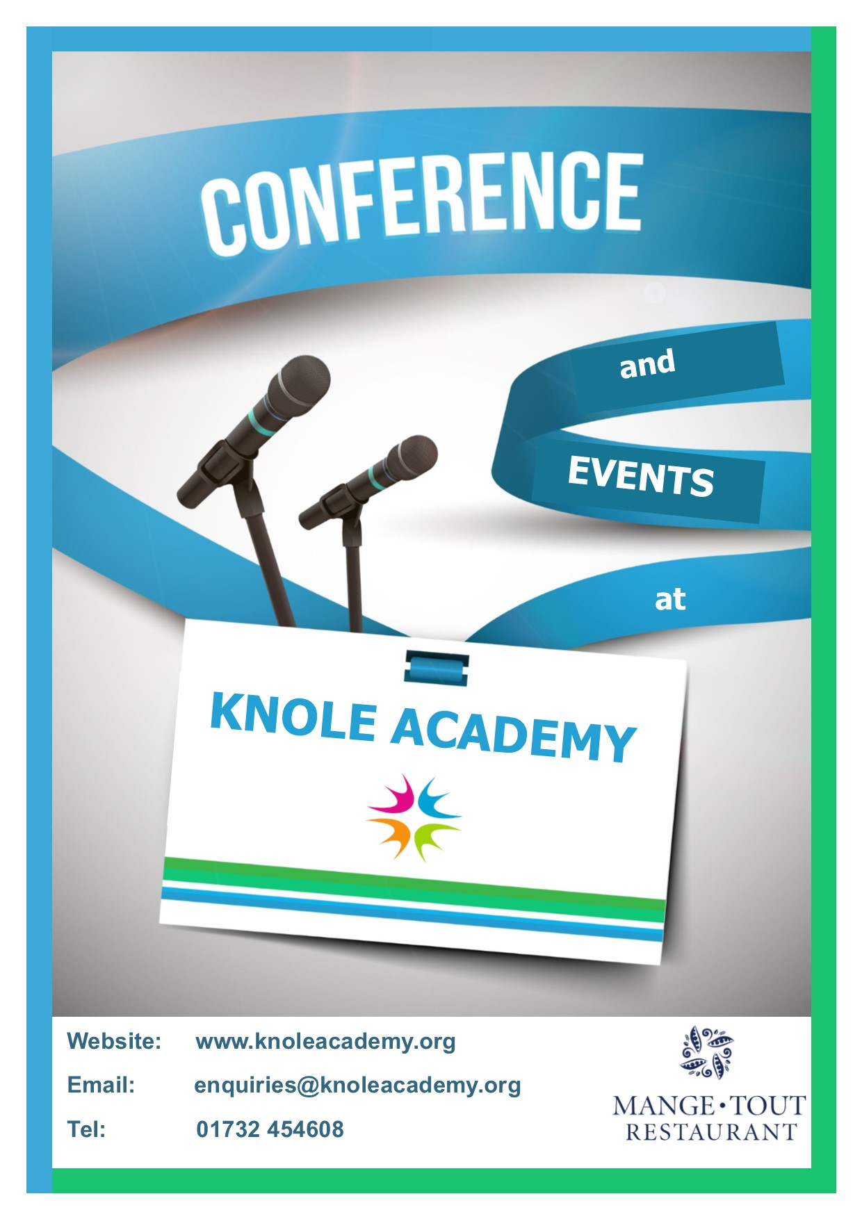 Conference booklet front cover