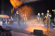 Spring Concert GCSE Music students and staff resized
