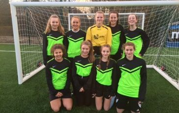 Fantastic start for U15 girls' football team