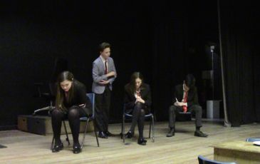'The Exam' Y9 GCSE Drama Production