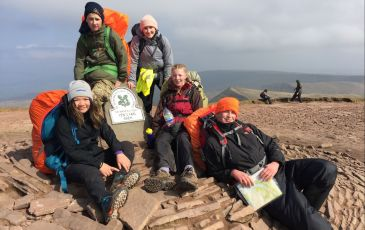Gold Practice Expedition in the Brecon Beacons