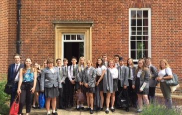 Trip to St Hugh's College Oxford