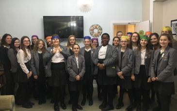 Chamber Choir performance for residents of Alpine Residential Care Home