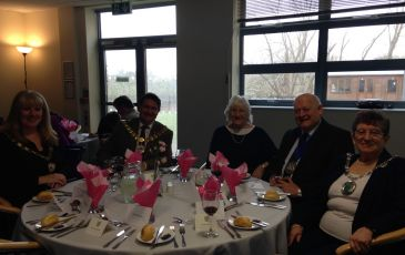 Mange Tout hosts Sevenoaks District Council Charity Luncheon