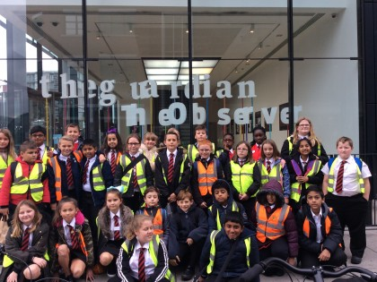 Guardian trip for budding journalists