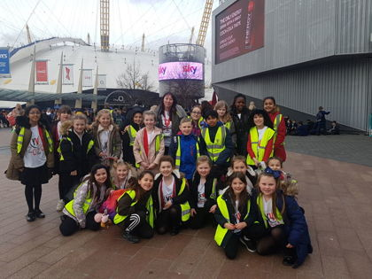 Young Voices at the O2 Arena - London