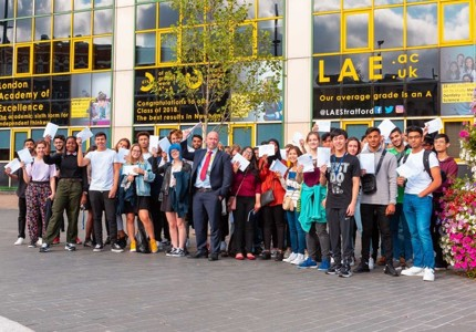 LAE Celebrates Best-Ever A Level Results