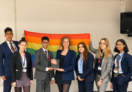 LAE scoops pioneering LGBTQ Award
