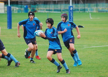 Under-14 Rugby Team victorious