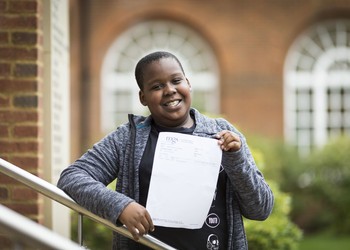 Diseye achieves top grade in GCSE Maths - aged just 11