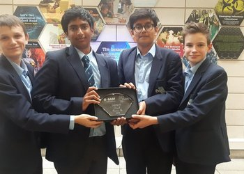 MGS boys excel at Chemistry Quiz