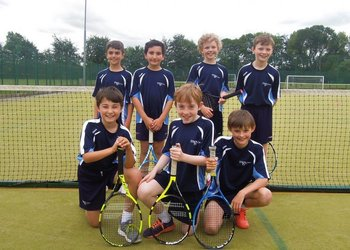 High hopes for Year 5 tennis