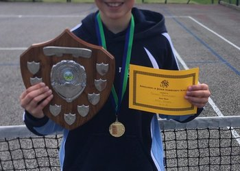 AJIS tennis success