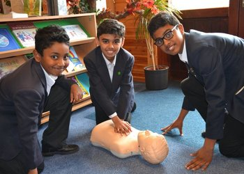 Year 6 Millie's Trust first aid training