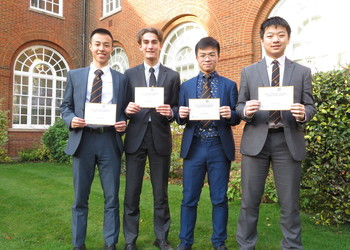 Senior Maths Team Regional Winners