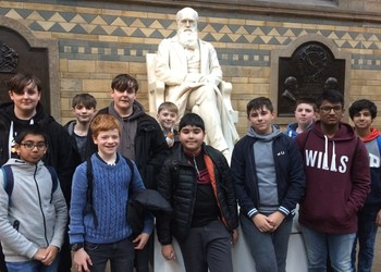 Biology trip to London