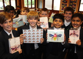 Year 5 and 6 Greetings Card Project