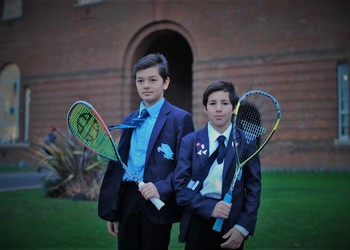 Talented brothers make an impact on the squash stage