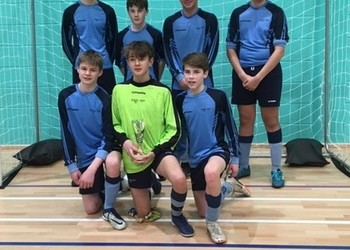 Futsal Success for Under-14 and Under-15 MGS team