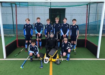 Under-13 Lancashire and Cumbria Hockey Champions