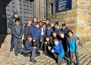 Junior School visit Lancaster Castle