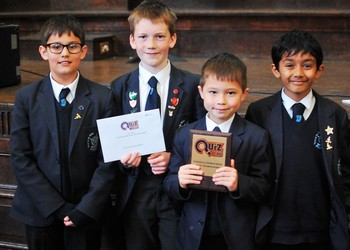 Junior School General Knowledge Quiz Winners