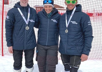 Silver Medals for skier Charlie
