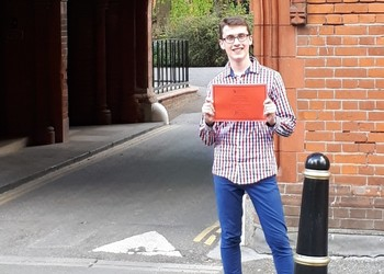 Humanities prize for talented writer Zac