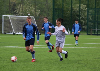 Double triumph for First XI footballers