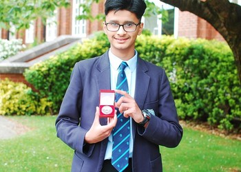 Mathematician Jiyaad 's remarkable performance