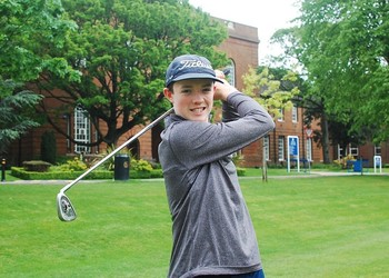Niall becomes only third MGS golfer to represent Lancashire