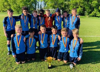 Historic double success for Under-12 footballers
