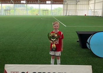 Fletcher helps Salford City FC to become national champions