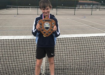 Tennis ace Harry crowned AJIS champion