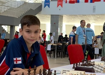 Chess star Ethan represents England