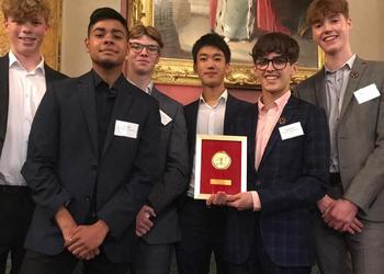 Top Award for MGS boys who teach English to victims of human trafficking