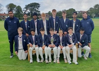 Under-14 cricketers lift Lancashire Cup