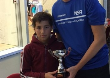 Harri crowned Under-11 Squash Champion