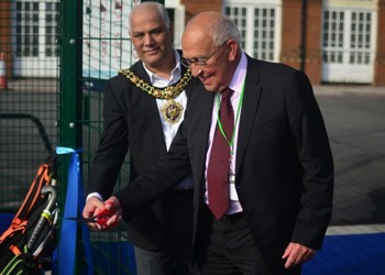Lord Mayor and MGS Chair of Governors officially open new hockey pitches